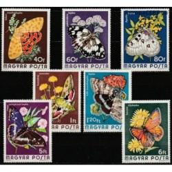 Hungary 1974. Butterflies