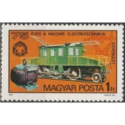 Hungary 1975. Rail transport