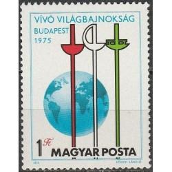 Vengrija 1975. Fechtavimas