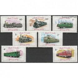 Hungary 1976. Locomotives