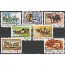 Hungary 1977. Carriages