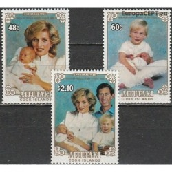 Aitutaki 1984. Royal familiy