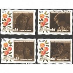 Aitutaki 1985. Royal families