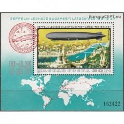 Vengrija 1977. Dirižablis