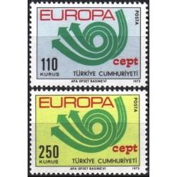 Turkey 1973. CEPT: Stylised...