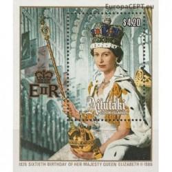 Aitutaki 1986. Elisabeth II