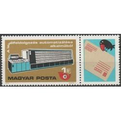 Hungary 1978. Post history