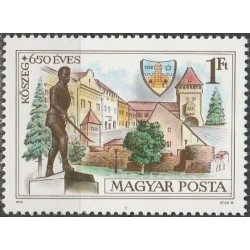 Vengrija 1978. Miestų...