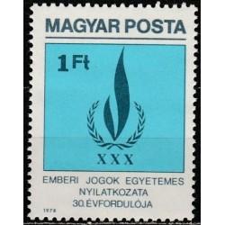 Hungary 1979. Human rights...