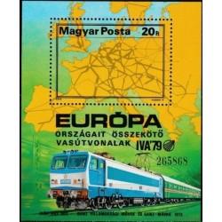 Vengrija 1979. Geležinkelių...
