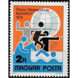 Vengrija 1979. Penkiakovės...