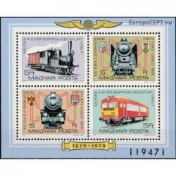 Hungary 1979. Locomotives