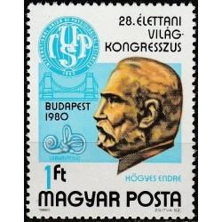 Vengrija 1980. Medicinos...