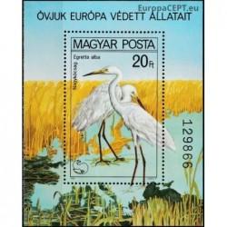 Hungary 1980. Great egret