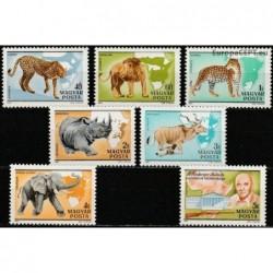 Hungary 1981. African fauna