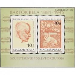 Hungary 1981. Composer Bartok