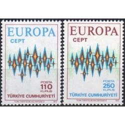 Turkija 1972. Europa CEPT