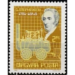 Hungary 1981. Rail transport