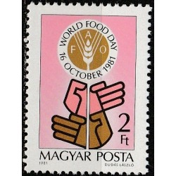 Hungary 1981. World food day