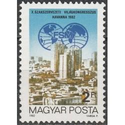 Hungary 1982. Congress in...