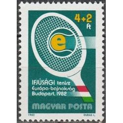 Hungary 1982. Tennis