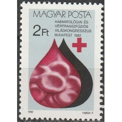 Vengrija 1982. Hemotologų...