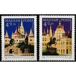 Hungary 1982. Architecture...