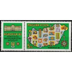 Vengrija 1982. Filatelijos...