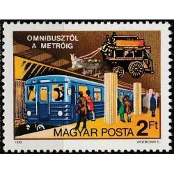 Hungary 1982. Public transport