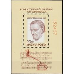 Hungary 1982. Composer