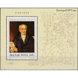 Hungary 1982. J.W. von Goethe