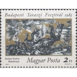 Hungary 1983. Spring festival