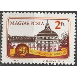 Vengrija 1983. Miestų istorija