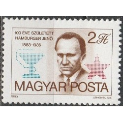 Hungary 1983. Famous...