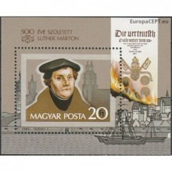 Hungary 1983. Martin Luther