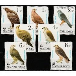 Hungary 1983. Birds of prey