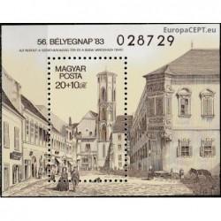 Hungary 1983. Architecture...
