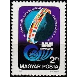 Hungary 1983. Astronautics