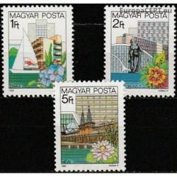 Vengrija 1983. Poilsio vietos