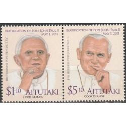 Aitutakis 2012. Popiežius...