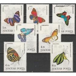 Hungary 1984. Butterflies