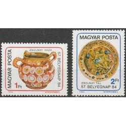 Vengrija 1984. Porceliano...