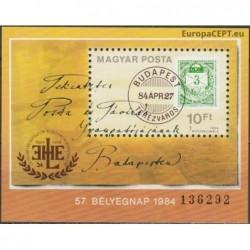 Vengrija 1984. Pašto istorija