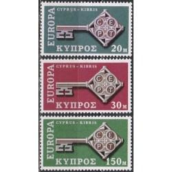 Cyprus 1968. Key with CEPT...