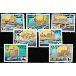 Vengrija 1985. Dunojaus tiltai