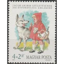 Vengrija 1985. Raudonkepuraitė