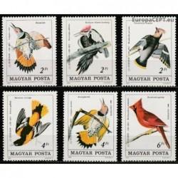 Vengrija 1985. Paukščiai