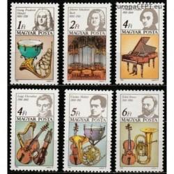 Hungary 1985. Composers