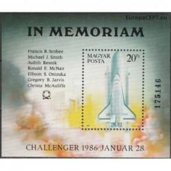 Hungary 1986. Challenger crash