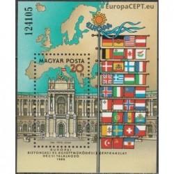 Hungary 1986. Organization...